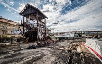 Jaká je budoucnost vyhořelého historického hradla?