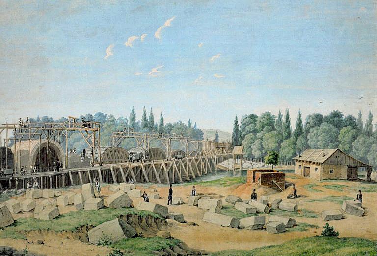 Odhaleny fragmenty původních základů Negrelliho viaduktu