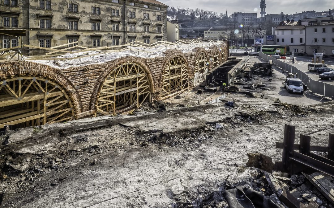 Postup rekonstrukce – únor 2018