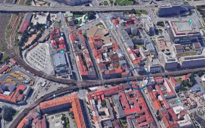 Uzavírka Sokolovské ulice z důvodu sanačních prací
