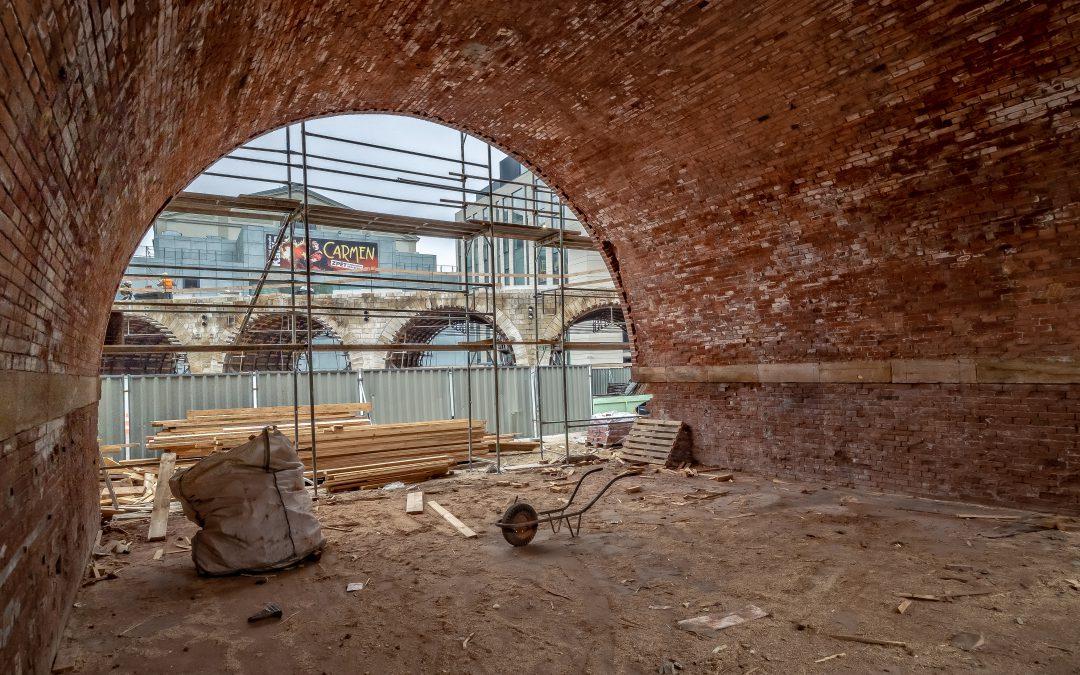 Postup rekonstrukce – listopad 2018