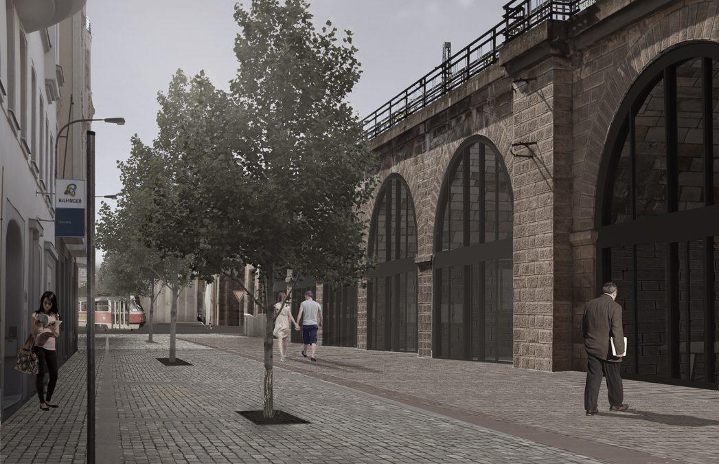 Budoucí využití oblouků Negrelliho viaduktu schváleno!