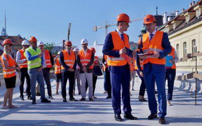 Ministr dopravy zkontroloval Negrelliho viadukt