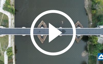 VIDEO: Na Negrelliho viaduktu splněn významný milník